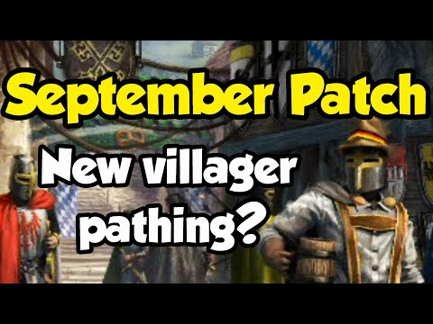 September Patch - Improved villager pathing?
