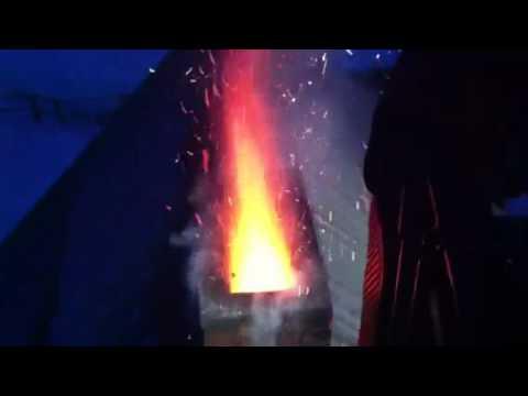 Schornsteinbrand Kaarz