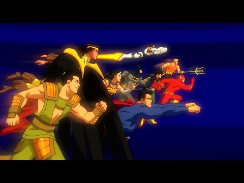 Justice League vs. Legion of Doom!
