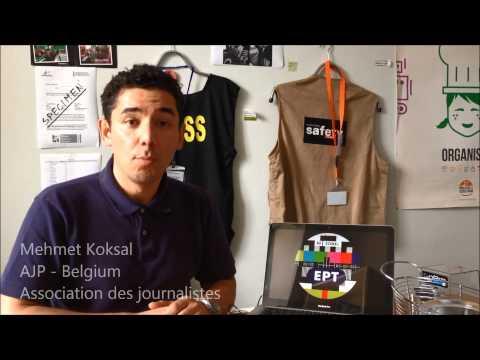 Solidarity message to ERT journalists from Belgium (видео)