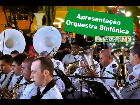Orquestra Sinfônica da Polícia Militar se apresenta em Paraisópolis/MG