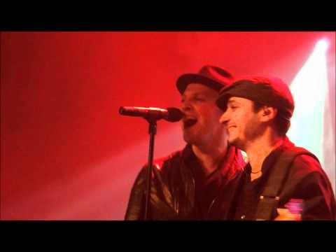 Tony Tino Time live @ Gavin DeGraw show @ Melkweg Amsterdam feb. 8 2012