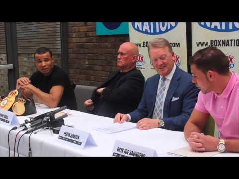 'GENNADY GOLOVKIN WOULD BEAT ME & YOU ON THE SAME NIGHT – SAUNDERS & EUBANK JR EXCHANGE WORDS