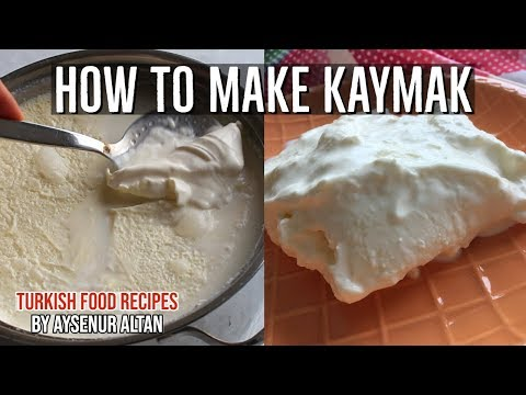 How To Make Kaymak (Clotted Cream) From Fresh Milk