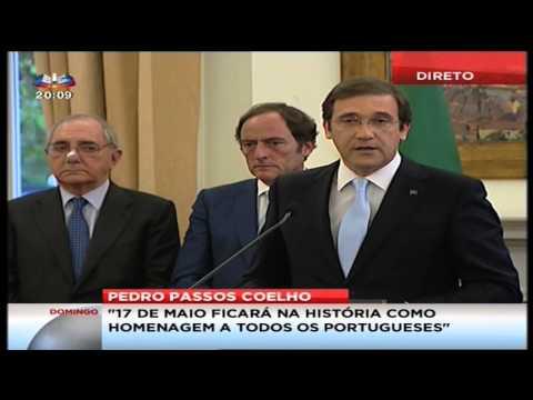 Declaração de Pedro Passos Coelho ao País