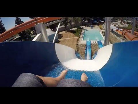 [NEW] Shore Break - Tube Slide #1 (Knott's Soak City OC) (видео)