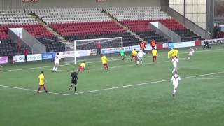 Albion Rovers win Lanarkshire Derby