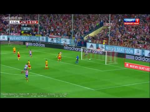 villa - Atletico Madrid vs Barcelona 2013 HD 1-1 David Villa Goal vs Barcelona HD David Villa Goal vs Barcelona David Villa Goal golazo Neymar Goal gol David Villa T...