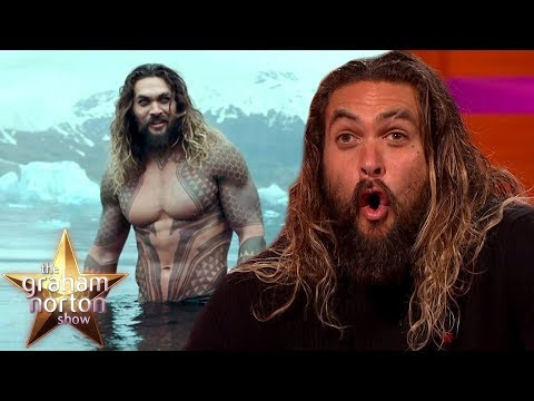 Jason Momoa Made A HUGE Mistake While Filming Aquaman  The Graham Norton Show