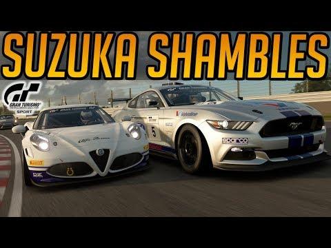 Gran Turismo Sport: Multiplayer Shambles at Suzuka