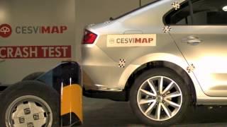 Crash Test trasero Seat Toledo en CESVIMAP