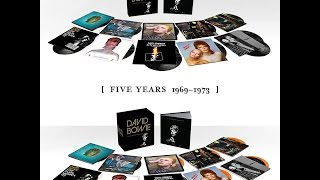 David Bowie (Five Years 1969 – 1973) unboxing video