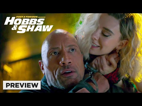 Fast & Furious Presents: Hobbs & Shaw | Hobbs vs. Hattie | Now on 4K, Blu-ray, DVD, & Digital