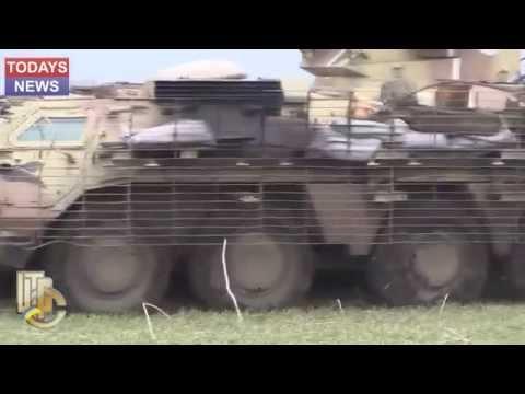 Военные ВСУ подорвались на мине и попали в засаду УКРАИНА 27 12 2014 АТО Донбасс Донецк