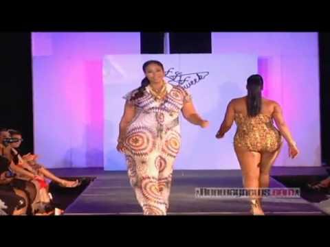 Fat කෙල්ලන්ගේ hot fashion show එක..