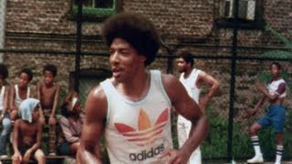 Dr. J at Harlem's famed Rucker Park