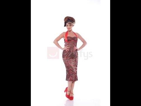 Deguisement robe cerise annees 50
