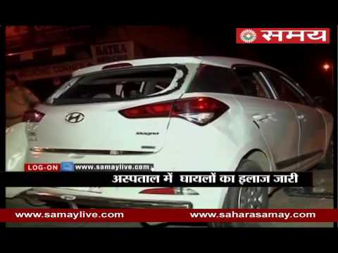6 people injured in car and auto collision in Delhi