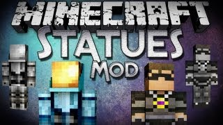 Minecraft Mod Showcase: Statues Mod - Showcase Your Favorite People and Items!