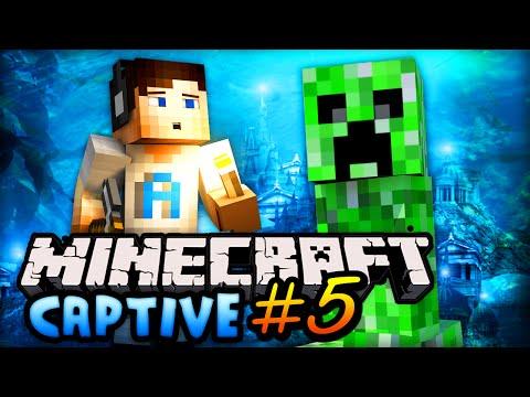 "Minecraft – CAPTIVE MINECRAFT – Part #5 w/ Ali-A – ""DARKNESS DOOM!"""