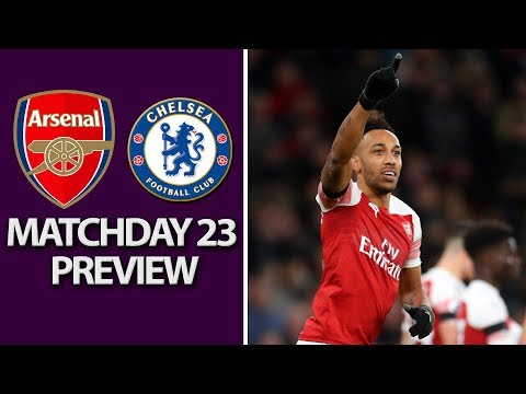 Arsenal V. Chelsea | PREMIER LEAGUE MATCH PREVIEW | 1/19/19 | NBC Sports