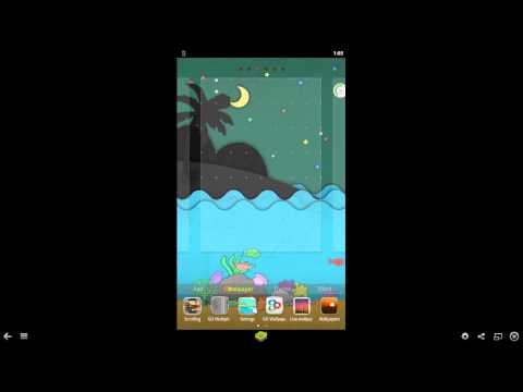 Video of Paper Sea Live Wallpaper