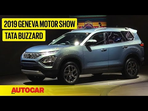 Download Tata Buzzard (H7X) | First Look Preview | Geneva Motor Show 2019 | Autocar India HD Mp4 3GP Video and MP3