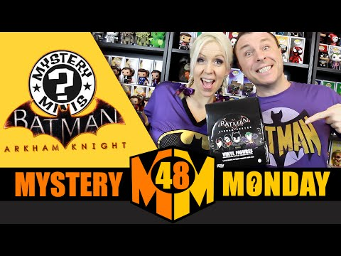 BATMAN Arkham Series : Funko Mystery Minis (Full Case Unboxing) Part 1