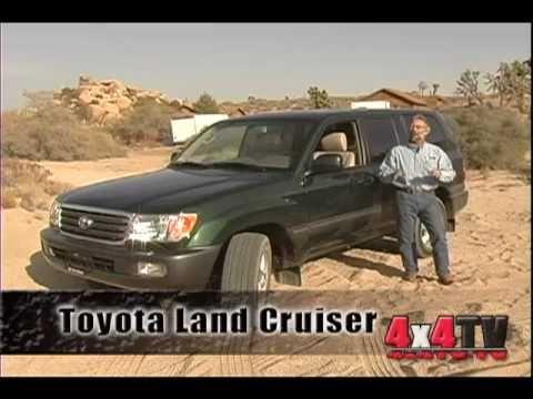 4x4TV Test – 2004 Toyota Land Cruiser