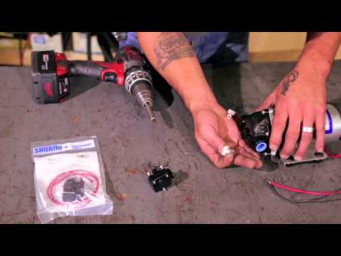 Replacing a Shurflo Pressure Switch