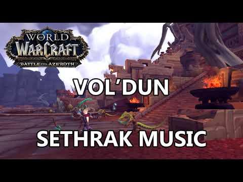Vol'dun Sethrak Music - Battle for Azeroth Music