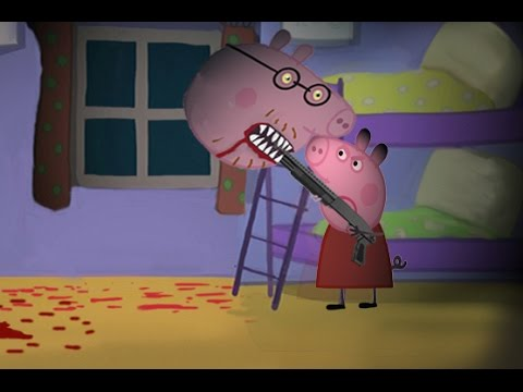 PEPPA PIG HORROR SPLATTER PARODY 3 (NO FOR KIDS) (видео)