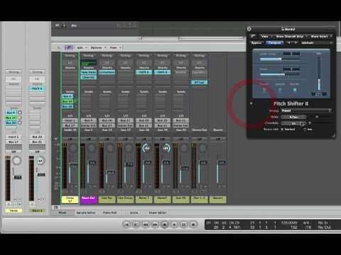 Apple Logic Studio 9 – Split Harmonizer Effect