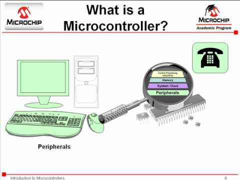Microcontroller - Visit http://www.microchip.com/mchptube to learn more. This video is intended for beginners unfamiliar with Microcontroller. The basic components of a Microc...