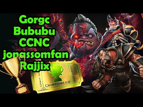 Gorgc Pudge Joins The Game! Battle Cup With Bubu Ccnc Rajjix Jonassomfan
