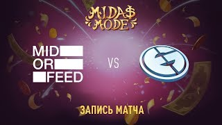 Mid Or Feed vs OG, Midas Mode, game 2 [Lum1Sit, Autodestruction]