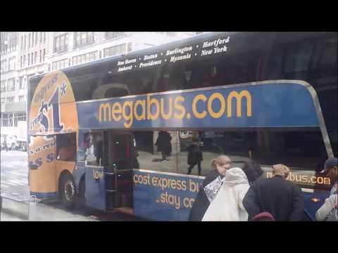 MegaBus $5 Dollar East Coast Trip
