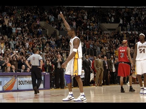 Through - As Kobe returns to the court, after his achille's injury, take a look back at Kobe Bryant's best play of each season! About the NBA: The NBA is the premier p...