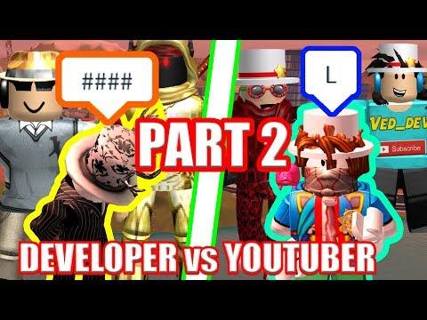 The WORST Jailbreak Players EVER??? Youtubers vs Developers PART 2  Roblox Jailbreak
