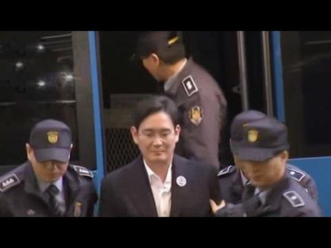 اعتقال رئيس شركة سامسونغ المتهم بالرشوة