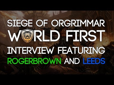 method - Fatboss have a lengthy chat with Rogerbrown and Leeds from Method, in which they discuss the journey to world first, the raiding scene and the Siege of Orgri...