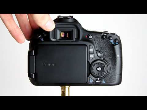Canon EOS 60D Tutorial 1 - An Introduction To The Camera