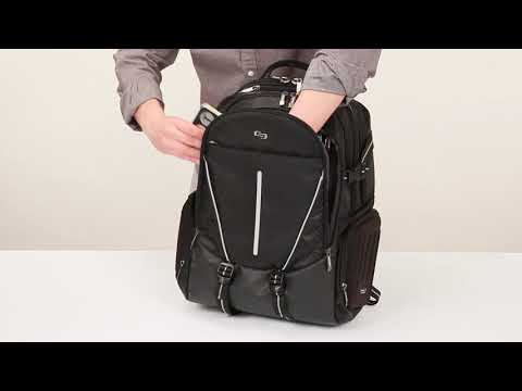 The Many Features of The SOLO Laptop Backpack