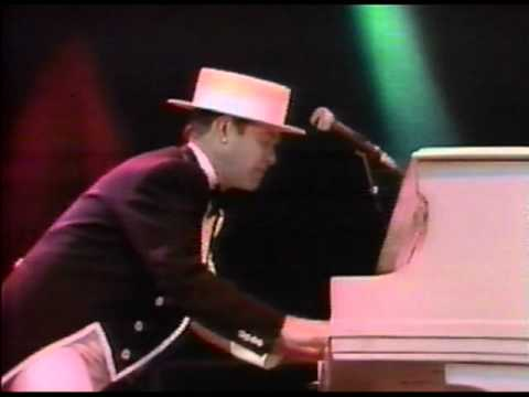Elton John - Bennie And The Jets - Wembley 1984 (HQ Video And Audio)