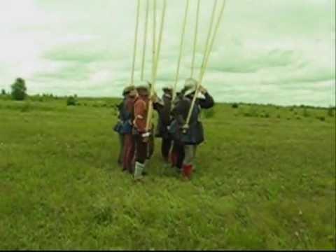 Розворот фаланги пикинеров. Рота святого Маурикия