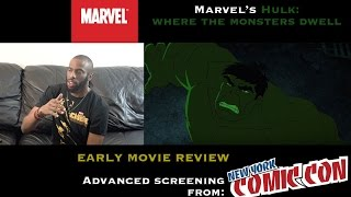Nonton  Nycc Marvel S Hulk  Where Monsters Dwell   Early Movie Review Film Subtitle Indonesia Streaming Movie Download