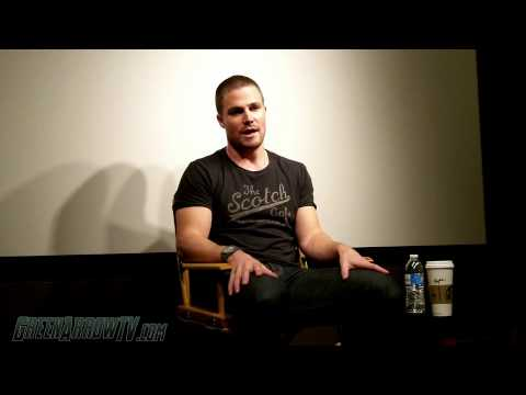 Arrow CW - Stephen Amell talks about the possibilities of Shado or Slade in Arrow Season 2. He also reveals how much he knows about what's coming next.