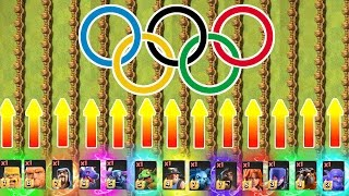 Video OLYMPIC GAMES!! 🔥 100 METRE SPRINT feat ALL TROOPS!! 🔥 Clash Of Clans MP3, 3GP, MP4, WEBM, AVI, FLV Februari 2018