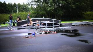 Wildeshausen Germany  City pictures : Building our new Skatepark
