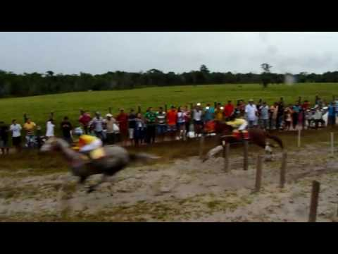 Corrida de cavalo em Maracaçumé( lenda viva e Carabina Brayan)